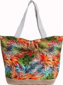 Сумка пляжная женская, текстиль – ИМ «Обжора»
