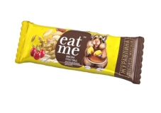 Батончик злаковый с клюквой EatMe 30 г – ІМ «Обжора»