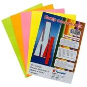 Бумага А4 Mini ассорти, Neon, 100 листов – ИМ «Обжора»
