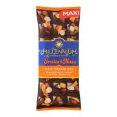 Шоколад Миллениум Fruits&Nuts миндаль фундук курага изюм, 140 г – ИМ «Обжора»