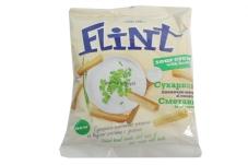Сухарики Флинт 150 г пшенично-ржаные сметана зелень – ИМ «Обжора»