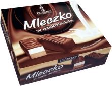 Конфеты DOBOSZ MLECZKO в шоколаде 400 г – ИМ «Обжора»