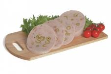 Ветчина из индюшиного мяса с оливками Gasademont – ИМ «Обжора»
