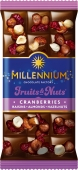 Шоколад Миллениум 80 г Fruits&Nuts миндаль фундук клюква изюм – ИМ «Обжора»