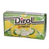 Жвачка Dirol X-Fresh свежесть яблока – ИМ «Обжора»