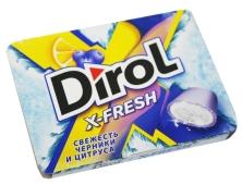 Жвачка Dirol X-Fresh черника цитрус – ИМ «Обжора»
