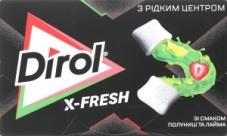 Жвачка Dirol X-Fresh клубника лайм – ИМ «Обжора»