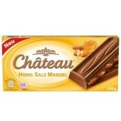 Шоколад Шато мед соленый миндаль 200 г – ИМ «Обжора»