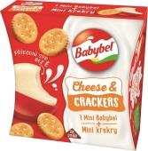 Сыр Mini Babybel полутвердый Комби с крекером – ИМ «Обжора»