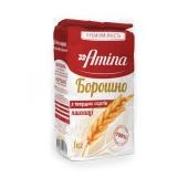 Борошно Аміна 1кг пшеничне з твердих сортів – ІМ «Обжора»