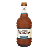 Пиво Старий Мельник з діжки Нефільтроване 0,45 л світле – ІМ «Обжора»