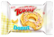 Бисквит ELVAN ТУДЕЙ ДОНАТ Банан 50 г – ИМ «Обжора»