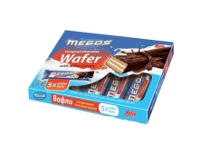 Вафли с молоком глазированные NEFIS 30 г*5 `MEGOS` – ИМ «Обжора»