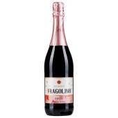 Вино красное сладкое игристое Sizarini Фраголино 0,75 л – ИМ «Обжора»