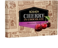"""Конфеты """"Вишня с шоколадным ликером"""", Roshen, 155 г – ИМ «Обжора»"""
