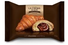 Круассан с шоколадным вкусом LA CREMA 65 г – ИМ «Обжора»