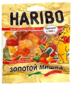 Жевательный мармелад Золотые медведи Haribo 35 г – ИМ «Обжора»