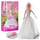Лялька DEFA 6091 наречена, гребінець, кор., 20-32,5-6,5 см. – ІМ «Обжора»