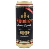 Пиво Henninger Lager 0.5 л – ИМ «Обжора»