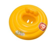 Плотик BW 32096 дитячий, надувний, жовтий, 69 см. – ІМ «Обжора»