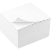 Бумага для заметок белая 80x80x20 мм, проклеенная – ИМ «Обжора»