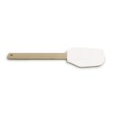 Лопатка кондитерська 30х6.2см, силікон/деревина – ІМ «Обжора»