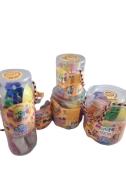 Набір тіста для ліпки 71101, Містер тісто 12 кольорів з блискітками, у блістері 10*9см – ІМ «Обжора»