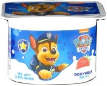 """Йогурт """"Клубника"""" Щенячий патруль 2% 115 г – ИМ «Обжора»"""