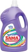 Средство для стирки Sama professional для цветных и белых вещей 4 кг – ИМ «Обжора»