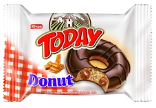 Бисквит ELVAN TODAY DONUT Карамель 50 г – ИМ «Обжора»