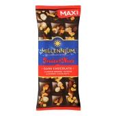 Шоколад Мілленіум 140г Fruits&Nuts мигдаль фундук цукати родзинки – ІМ «Обжора»