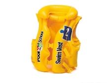 Жилет надувн, жовтий 3-6 років 58671 – ІМ «Обжора»