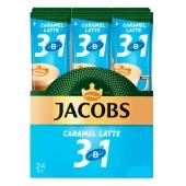 Кофе Jacobs  стик 3в1 Карамель 15 г – ІМ «Обжора»