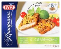 Рыбные порции Vici из филе минтая в панировке 400 г – ИМ «Обжора»
