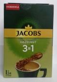 Кофе Jacobs 15 г 3в1 Лесной орех – ІМ «Обжора»