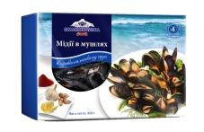 Замороженные мидии в ракушках в провансальском соусе Skandinavika 450 г – ИМ «Обжора»