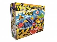 Набір для творчості 51201 `Magic sand 0,450 + трактор`, в кор-ці 30-23,5-7см – ІМ «Обжора»