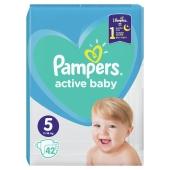 ZZZ Підгузки PG PAMPERS Active Baby Junior (11-16 кг) Упаковка 42 шт, – ІМ «Обжора»