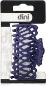 Крабик Dini Matte Style Гребешок плетеный синий d-736 – ИМ «Обжора»