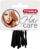 Резинка Titania 12 шт., диаметр 3 см, черная 7800 – ИМ «Обжора»