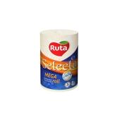 Рушники паперові `Ruta Selecta` Mega roll білі 3 шар 1рул – ІМ «Обжора»