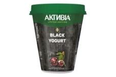 Бифидойогурт Вишня Черный уголь Активия 3% 280 г – ИМ «Обжора»