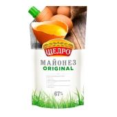 Майонез Щедро Original 67% 350 г – ИМ «Обжора»