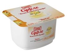 Десерт Злагода 6% Суфле ваниль 120 г – ИМ «Обжора»