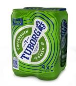 Пиво Туборг (Tuborg) Грин 0.5 л*4 – ИМ «Обжора»
