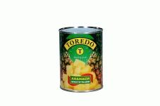 Конс, Toredo 580 мл Ананас в солодкому сиропі шматочки ж/б – ІМ «Обжора»