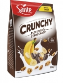 Сухий сніданок Sante 350г кранчі банан шоколад – ІМ «Обжора»