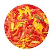 Зам.Овощи  Перец трио резанный вес. – ИМ «Обжора»