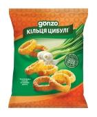 Снек Gonzo кукур кільця 40г зі см цибулі – ІМ «Обжора»