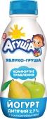 Йогурт Агуша 2,7% 200г яблуко-груша – ІМ «Обжора»